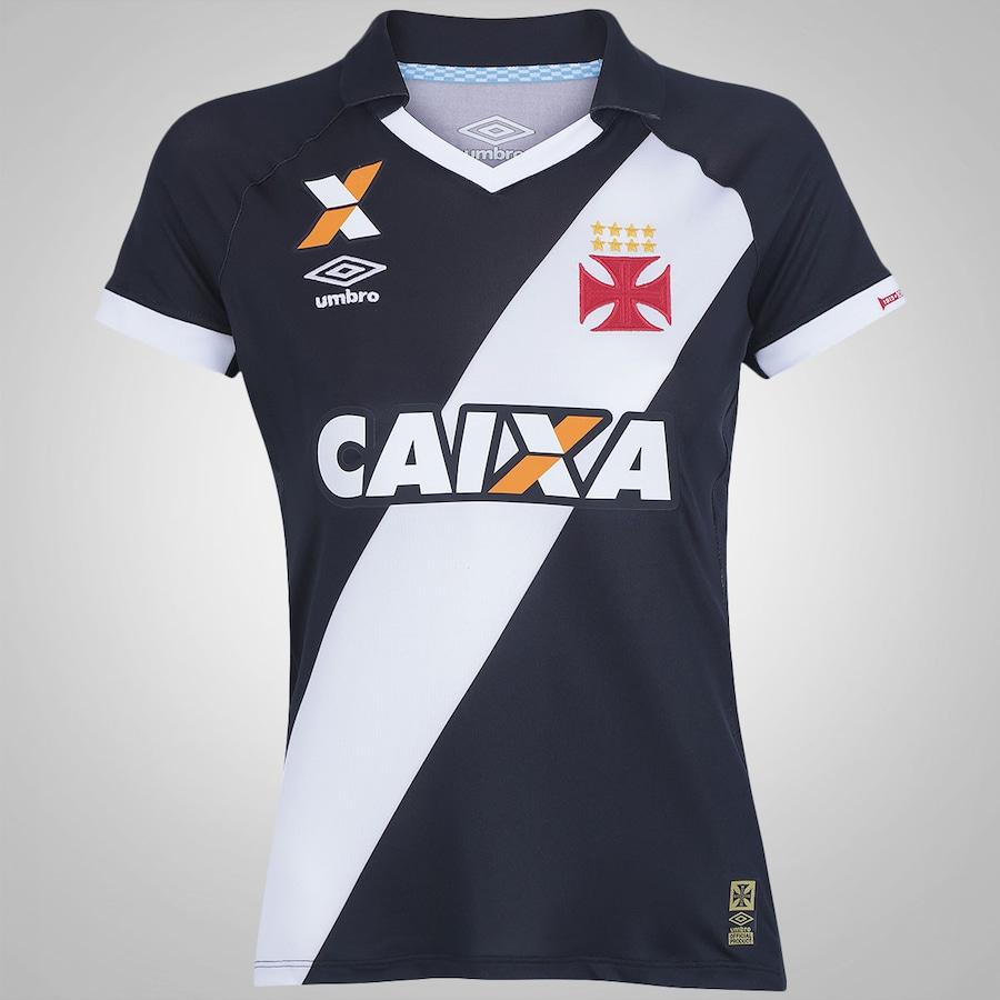 3c18202520 Camisa do Vasco da Gama I 2015 s nº Umbro Feminina
