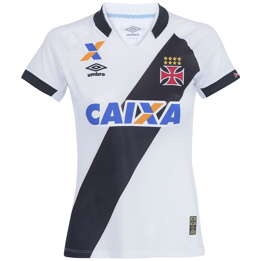 9024303886 Camisa do Vasco da Gama II 2015 s nº Umbro Feminina