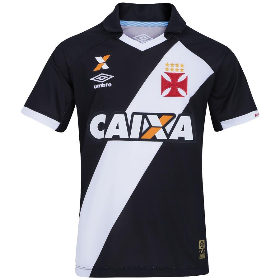 06933d458d7eb Camisa do Vasco I 2015 nº 10 Umbro Infantil
