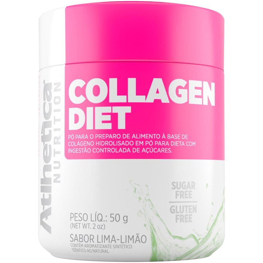 Colágeno Atlhetica Collagen Diet - Limão - 200g