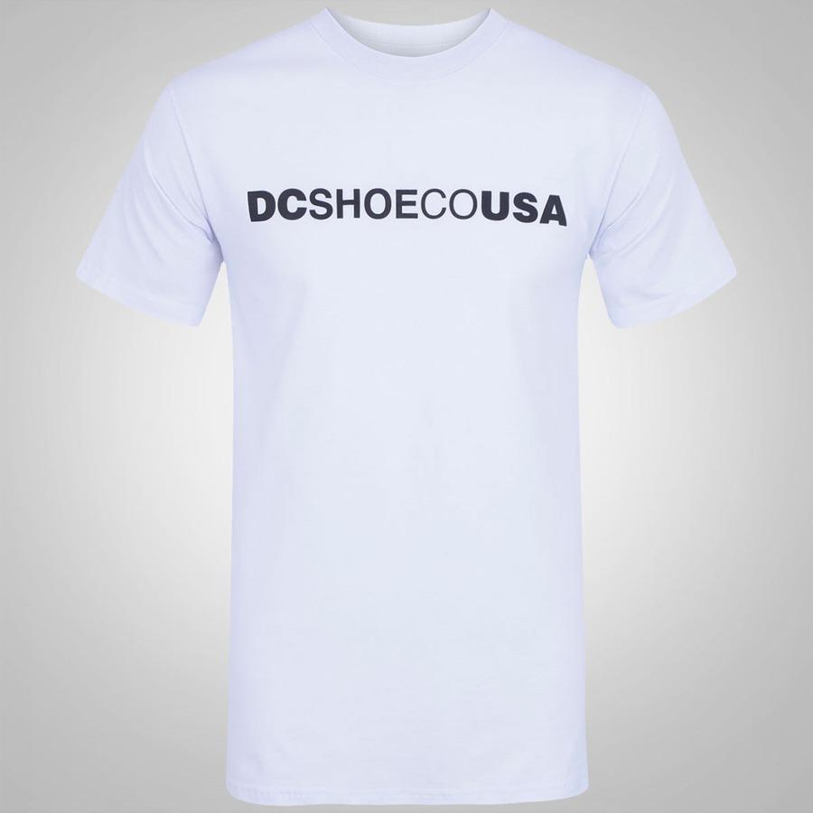 7e3cc94c75762 Camiseta DC Shoes Co USA - Masculina