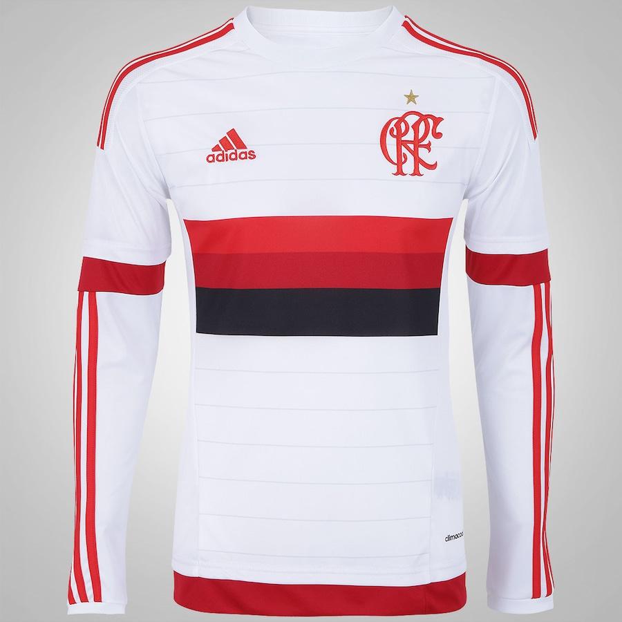 Camisa Manga Longa do Flamengo II 2015 s n° adidas - Mascul 45fa300f86551