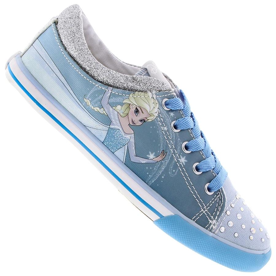35c50106a4c Tênis Sugar Shoes Frozen - Princesa Elsa - Infantil