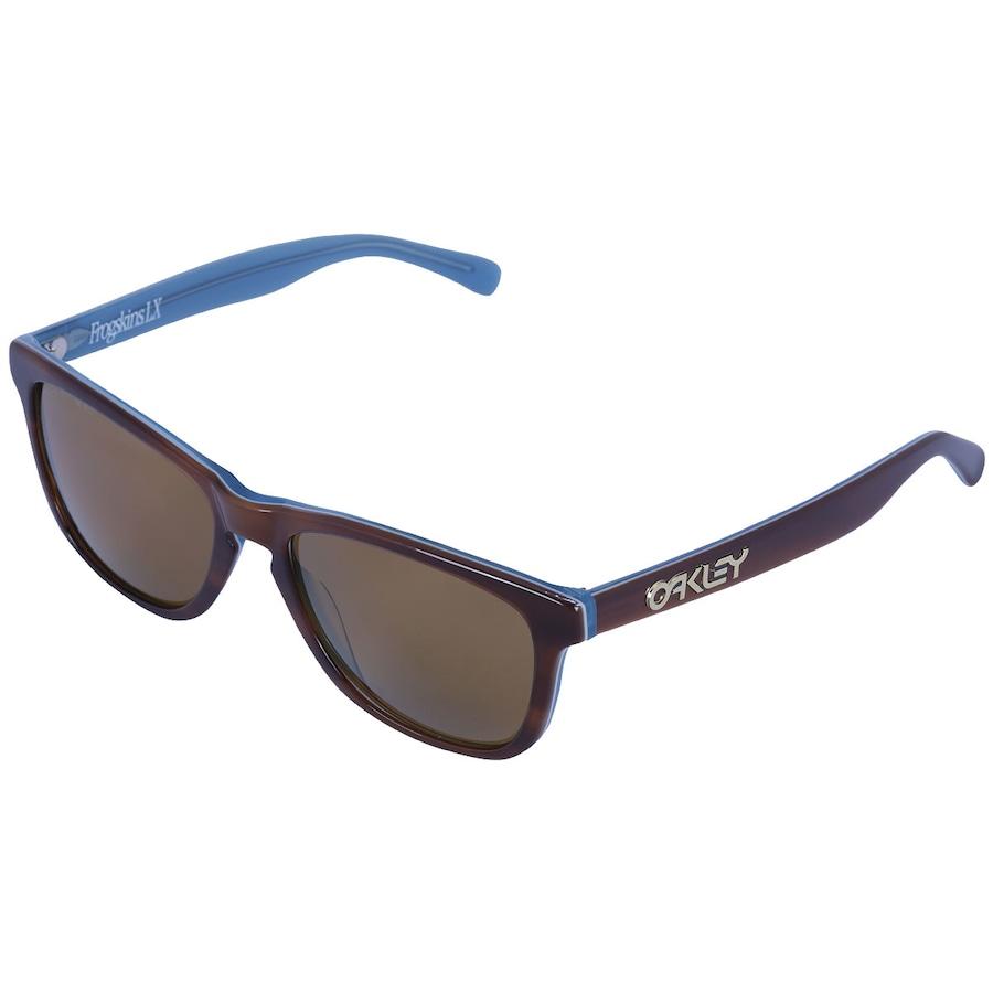 a88b6468dec64 Óculos de Sol Oakley Global Frogskin LX Polarizado Unissex