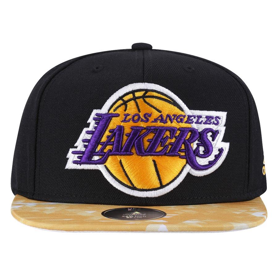 81c7e73fd2c54 Boné Aba Reta adidas Los Angeles Lakers Bicolor - Snapback
