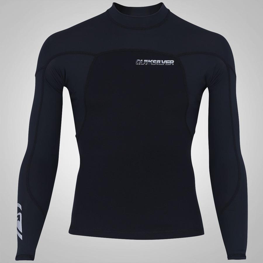 Camisa de Surf Manga Longa de Neoprene Quiksilver Syncr 317c79a967