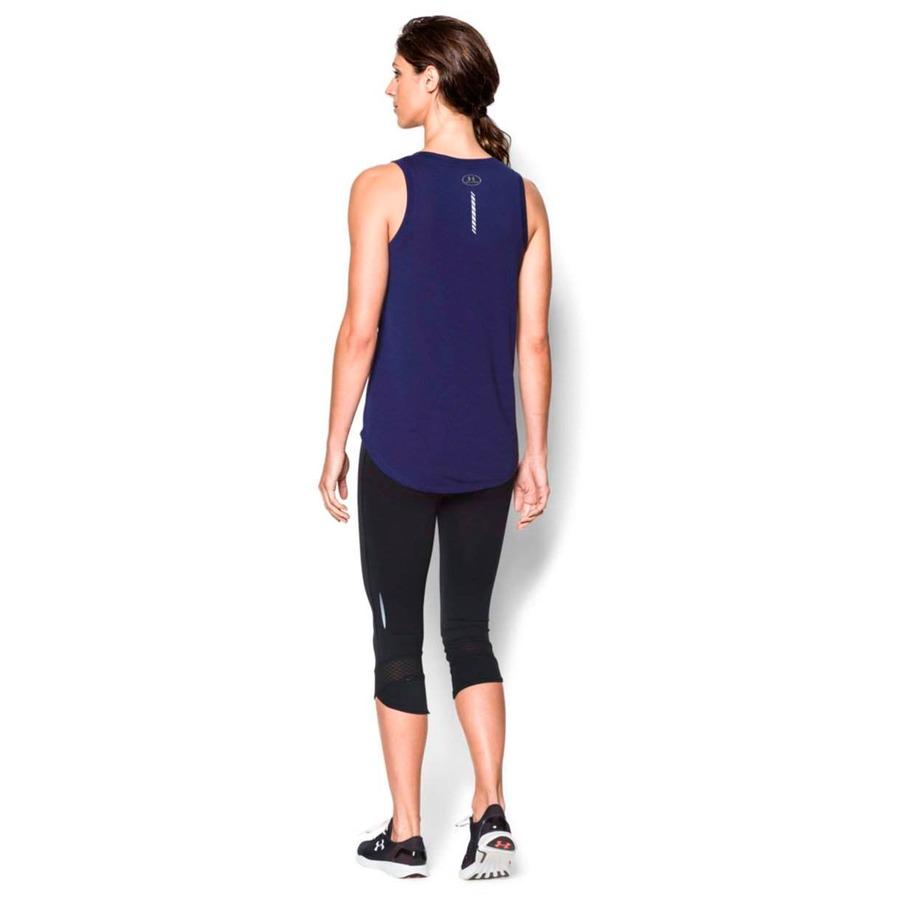 05328a0048 ... Camiseta Regata Under Armour Oversize Run Graphic - Feminina