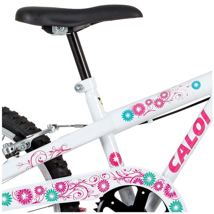 ... Bicicleta Caloi Ceci com Cestinha - Aro 20 - Freio V-Brake - Feminina  ... 8d7e2981cfb19