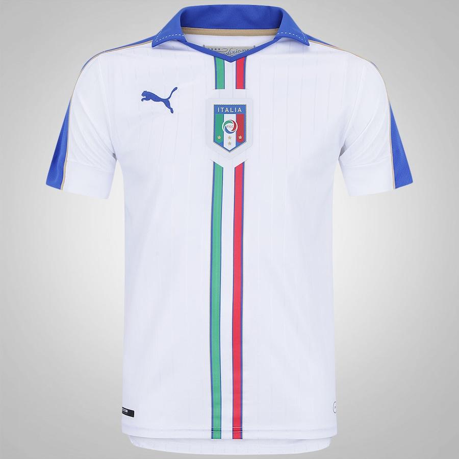 Camisa Itália II 2016 Puma - Masculina bb3fe0633bb6b