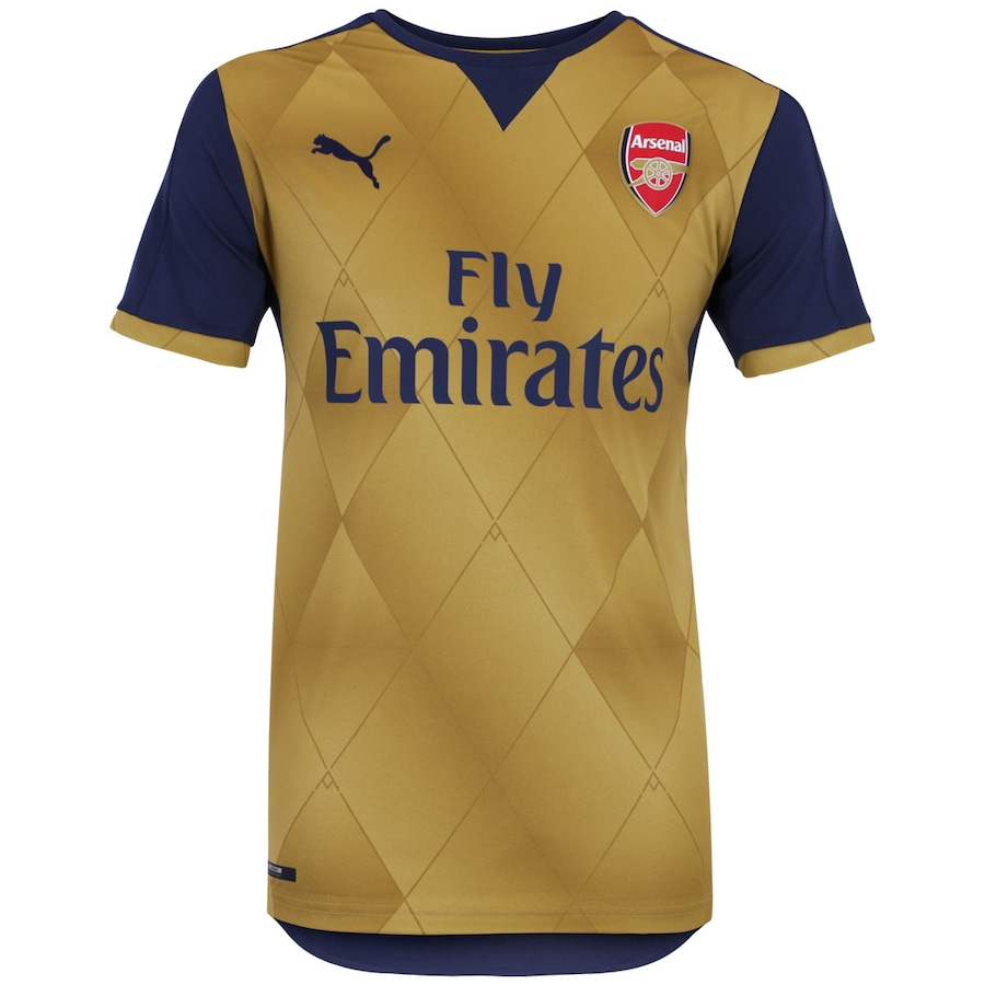 Camisa Arsenal II 15 16 Puma - Masculina ae7fae1bf5163