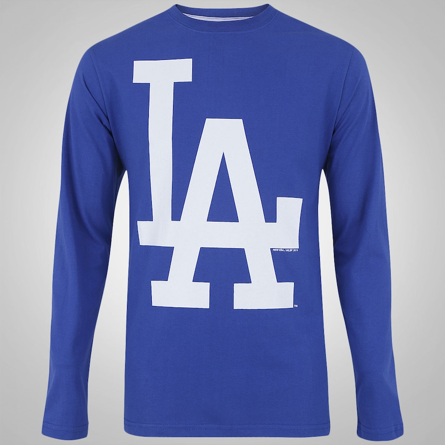 ec1355c5f1162 Camiseta Manga Longa New Era Los Angeles Dodgers – Masculin