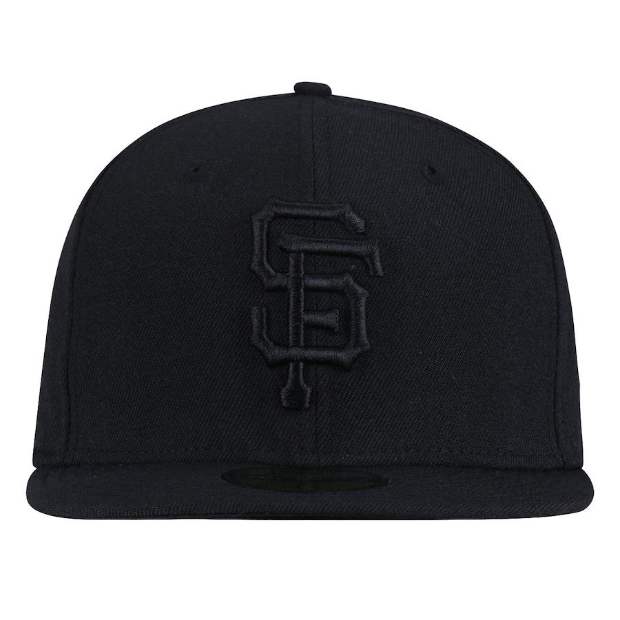 Boné Aba Reta New Era San Francisco Giants Preto - Fechado 17c2337811d