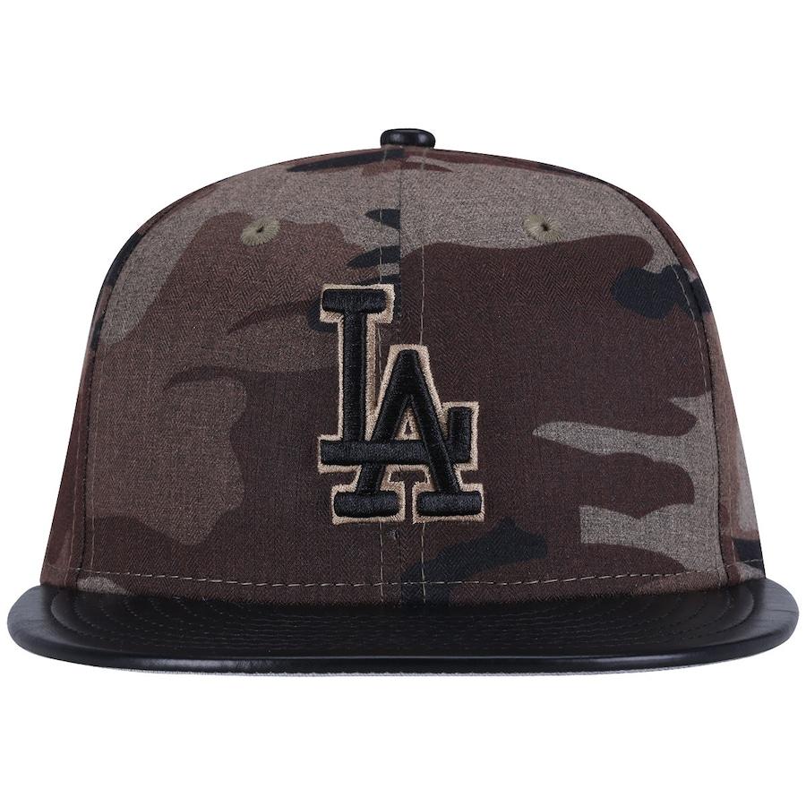 Boné Aba Reta New Era Los Angeles Dodgers Fechado - Rajado 57638215204
