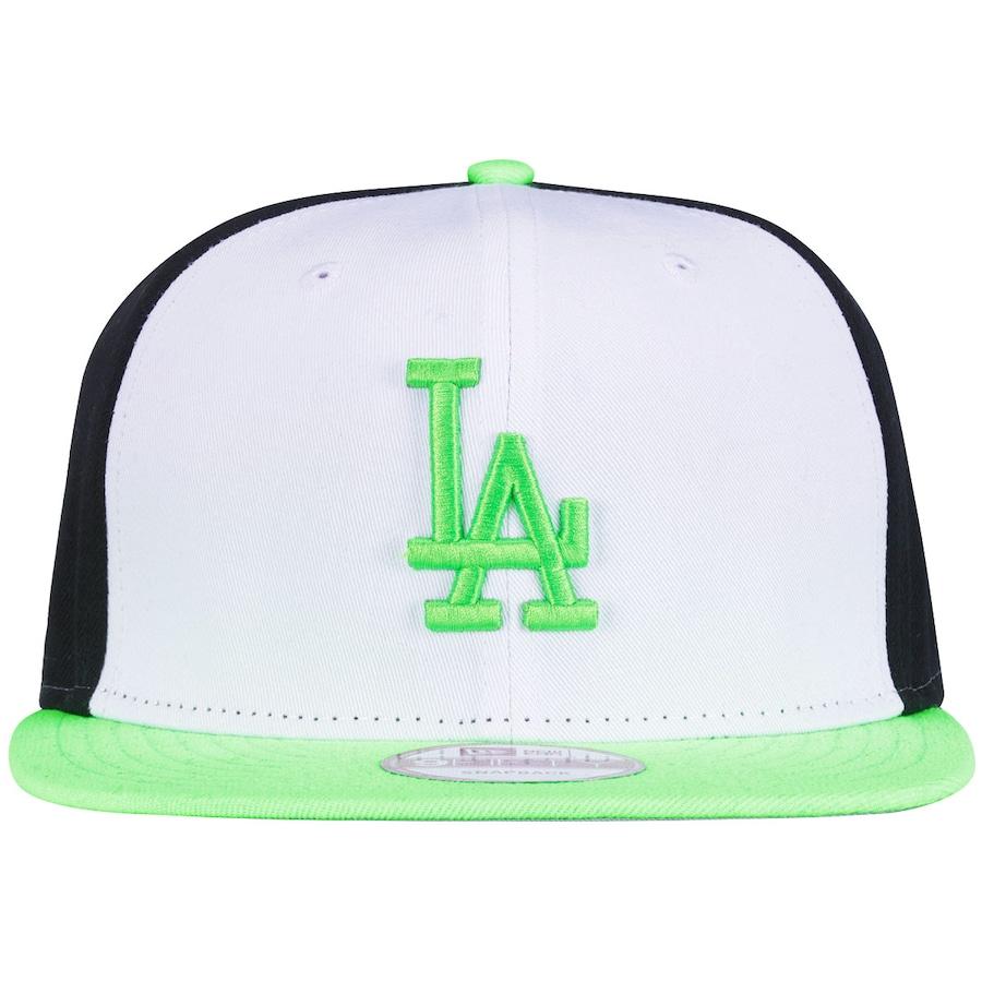Boné Aba Reta New Era Los Angeles Dodgers - Verde e Branco 7f92b92d0cb