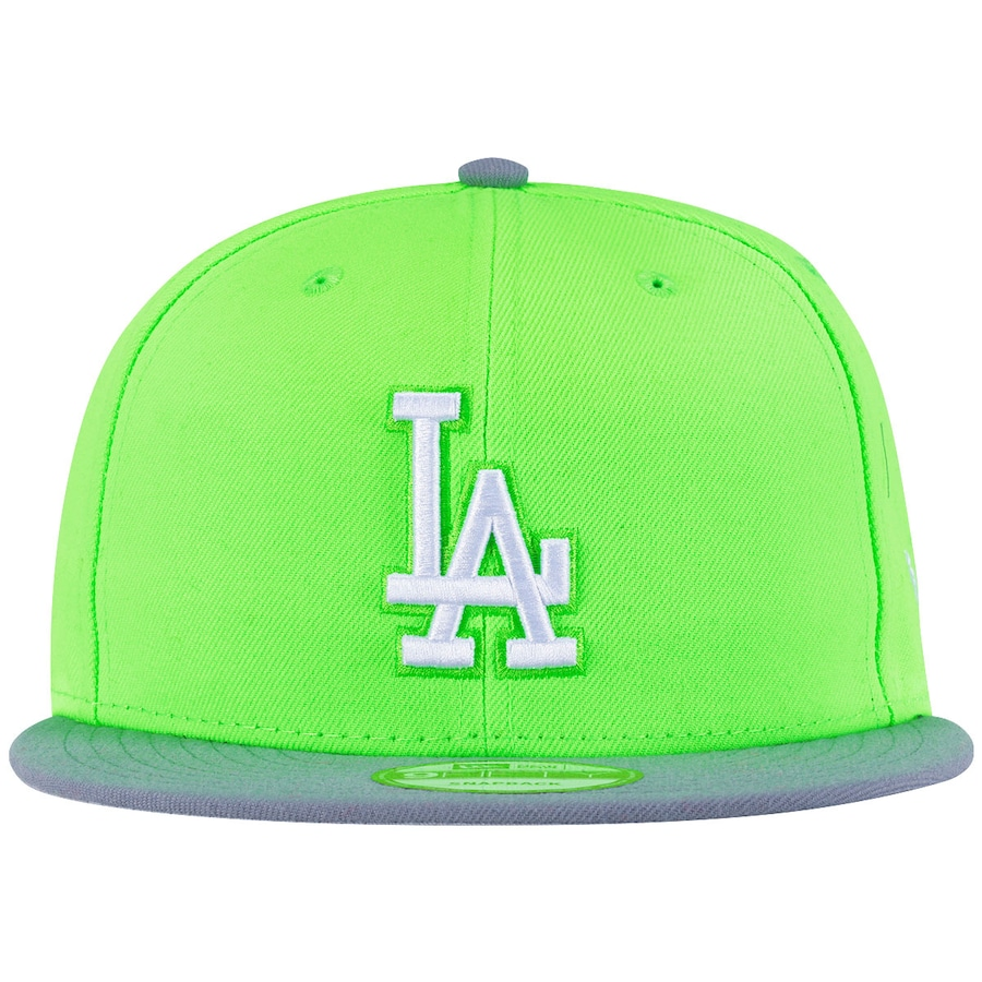 6e9c894fcfacd Boné Aba Reta New Era Los Angeles Dodgers Snapback - Verde