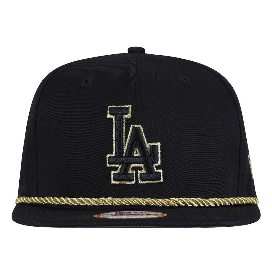 ccfd60f5aef01 Boné Aba Reta New Era Los Angeles Dodgers - Trança Preta