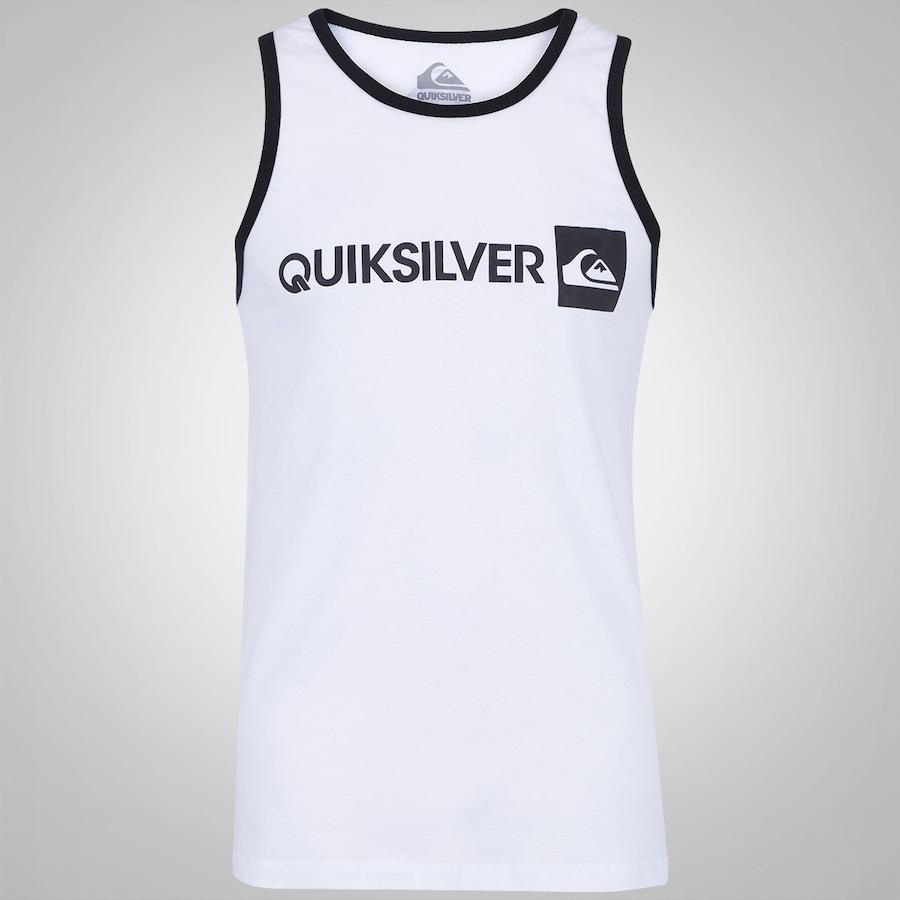 Camiseta Regata Quiksilver Everday Gothic Masculina 93888a41fa1