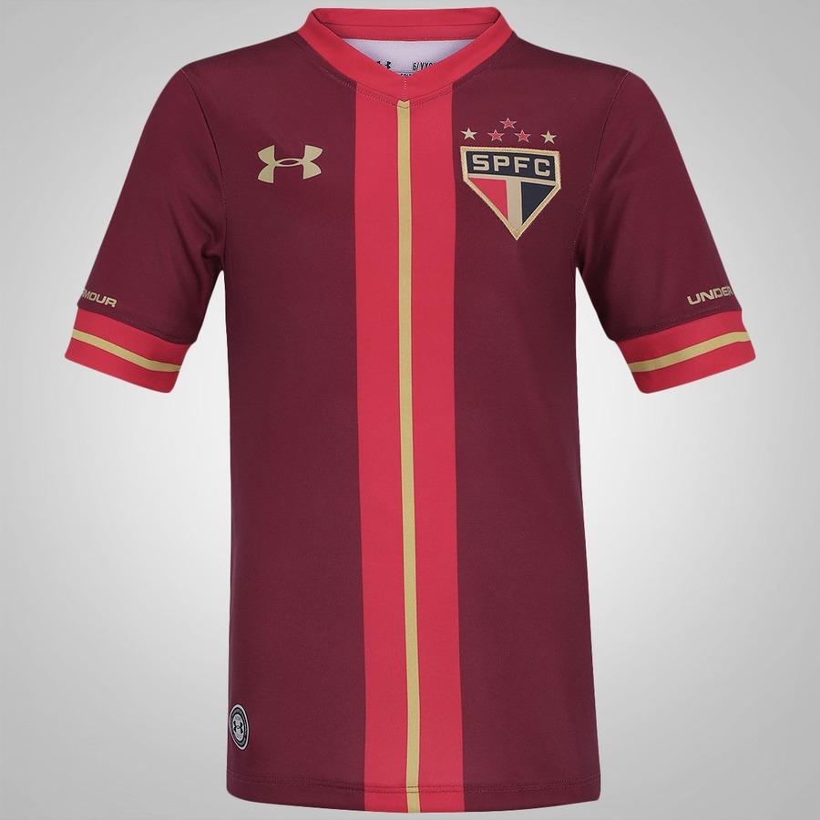 Camisa do São Paulo III 2015 Under Armour - Juv 03e1ce32fdeb2