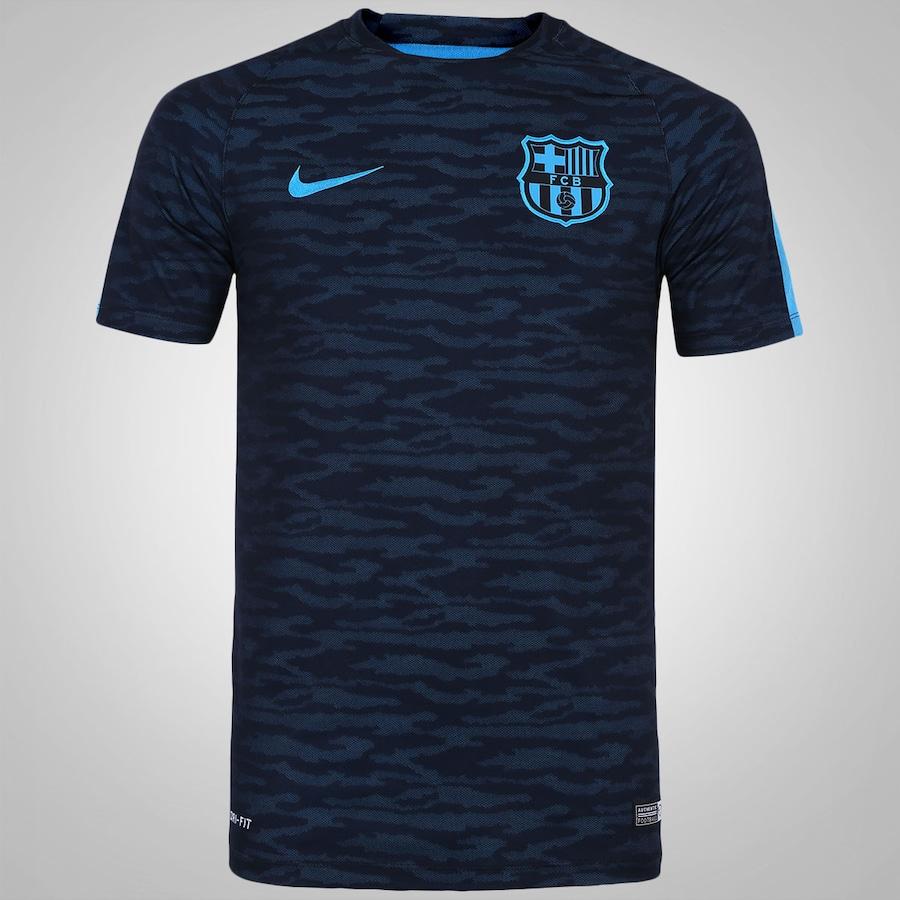 Camiseta do Barcelona Nike Flash 8ef3db59f8637