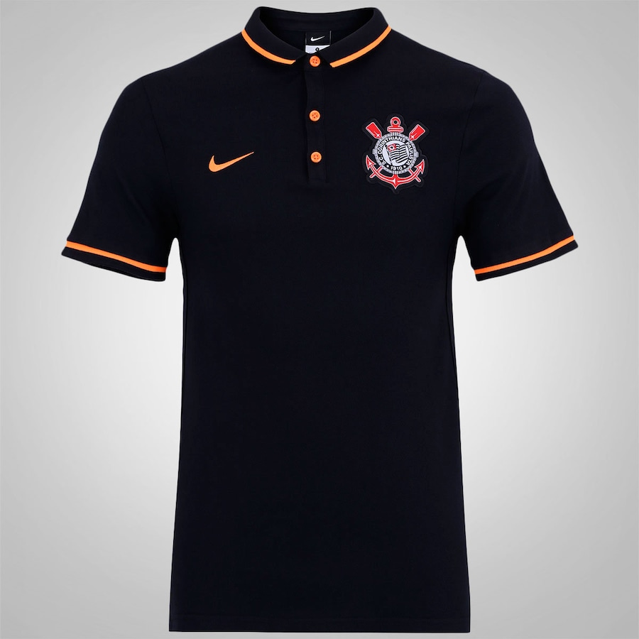 Camisa Polo do Corinthians 2015 Authentic DCP Nike Mascul 9ee22fb6d82e9