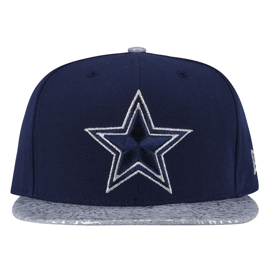 Boné Aba Reta New Era Dallas Cowboys Estrela - Snapback 4d76b0111c5