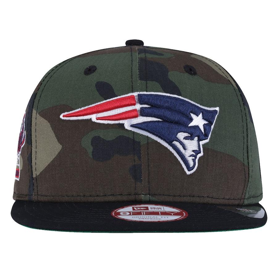 539fccca7b4aa Boné Aba Reta New Era New England Patriots Camuflado