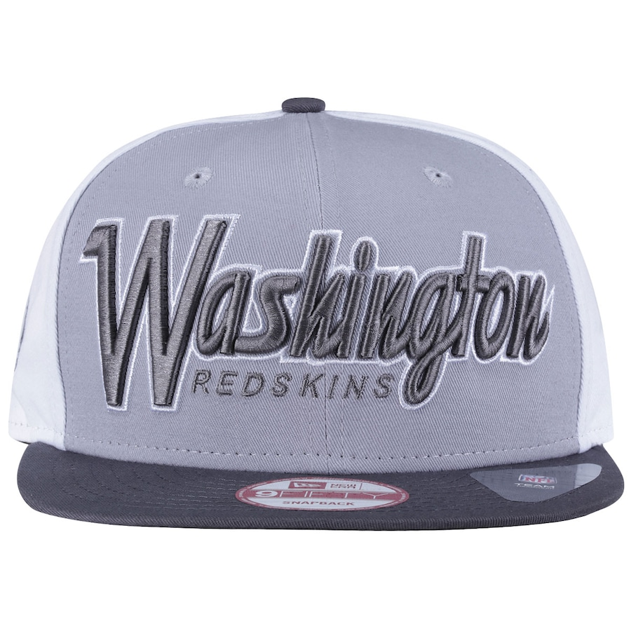 c80cf163c5 Boné Aba Reta New Era Washington Redskins Cinza - Snapback