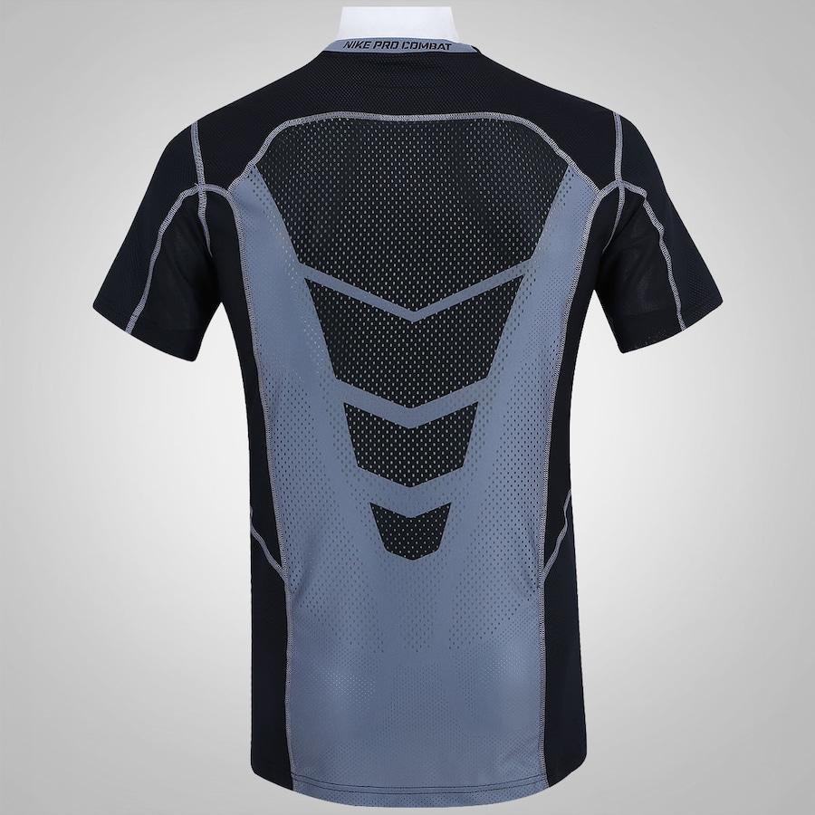 ... Camisa de Compressão Nike Hypercool Fitted - Masculina ... e590789095a62