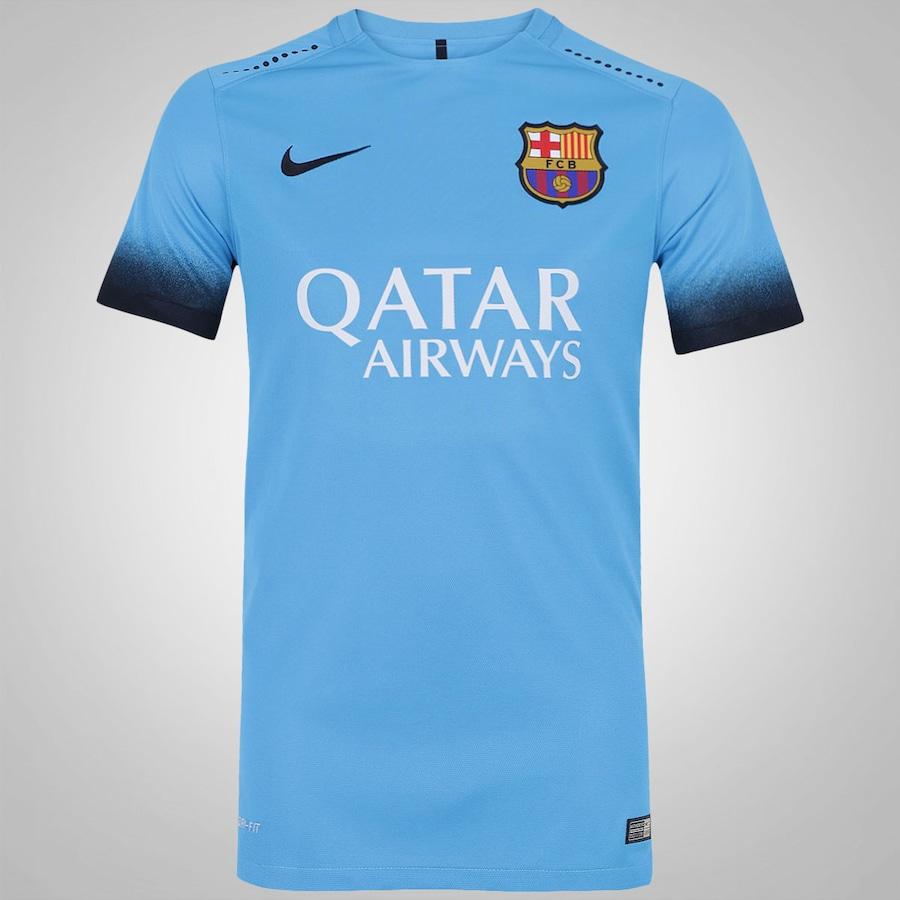 Camisa Barcelona III 15 16 Nike Jogador - Masculina 28f210cde3936