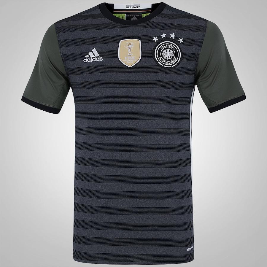 Camisa Alemanha II 2016 adidas - Masculina f03f3babb73dd