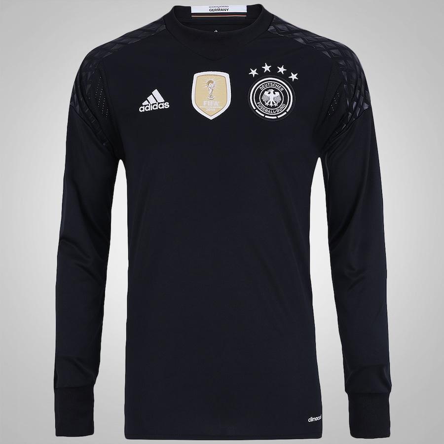 Camisa de Goleiro Manga Longa da Alemanha adidas - Masculin cf79367b4e3bc