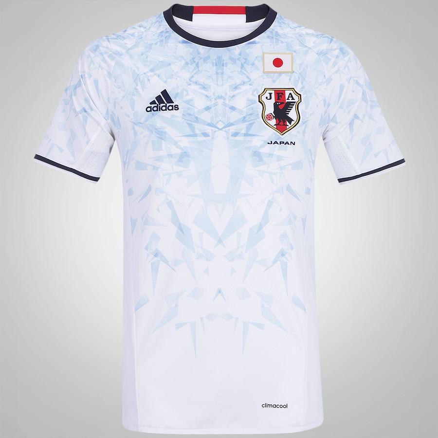 Camisa Japão II 2016 adidas - Masculina 1a6b3db287131