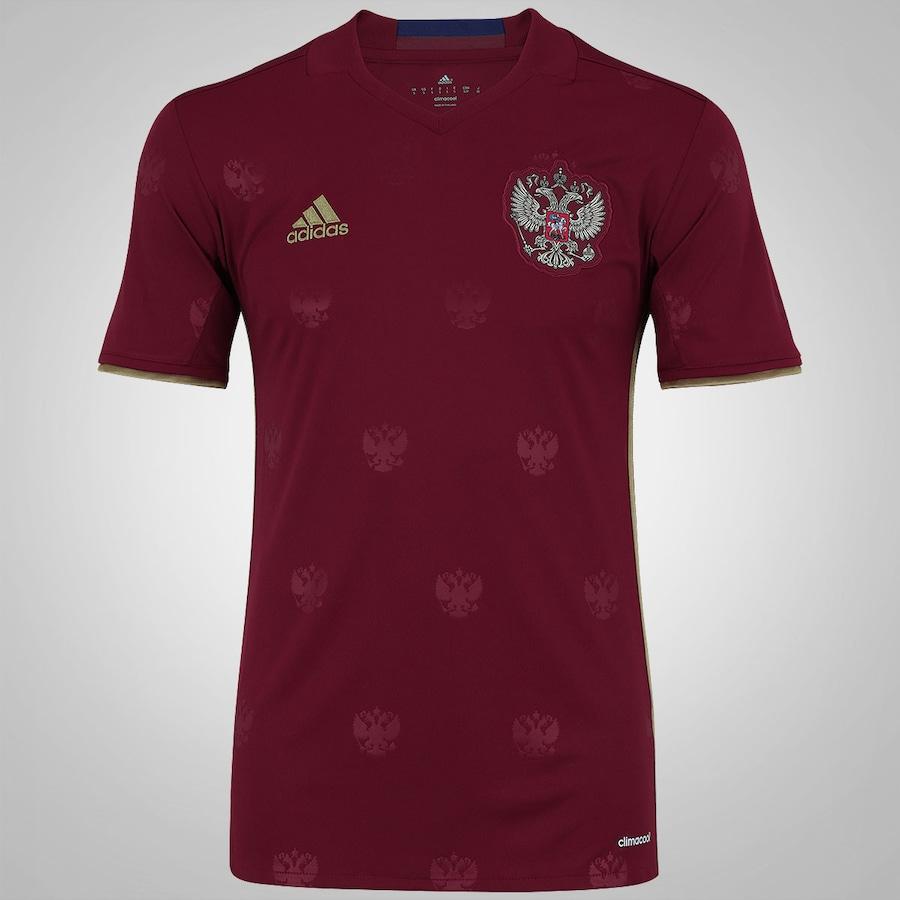0982f62eac Camisa Rússia I 2016 adidas - Masculina