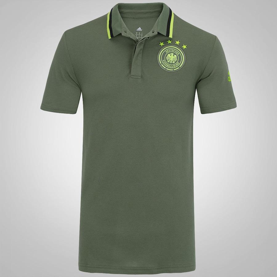 Camisa Polo da Alemanha Hino adidas - Masculina 413c65aa9c5ea