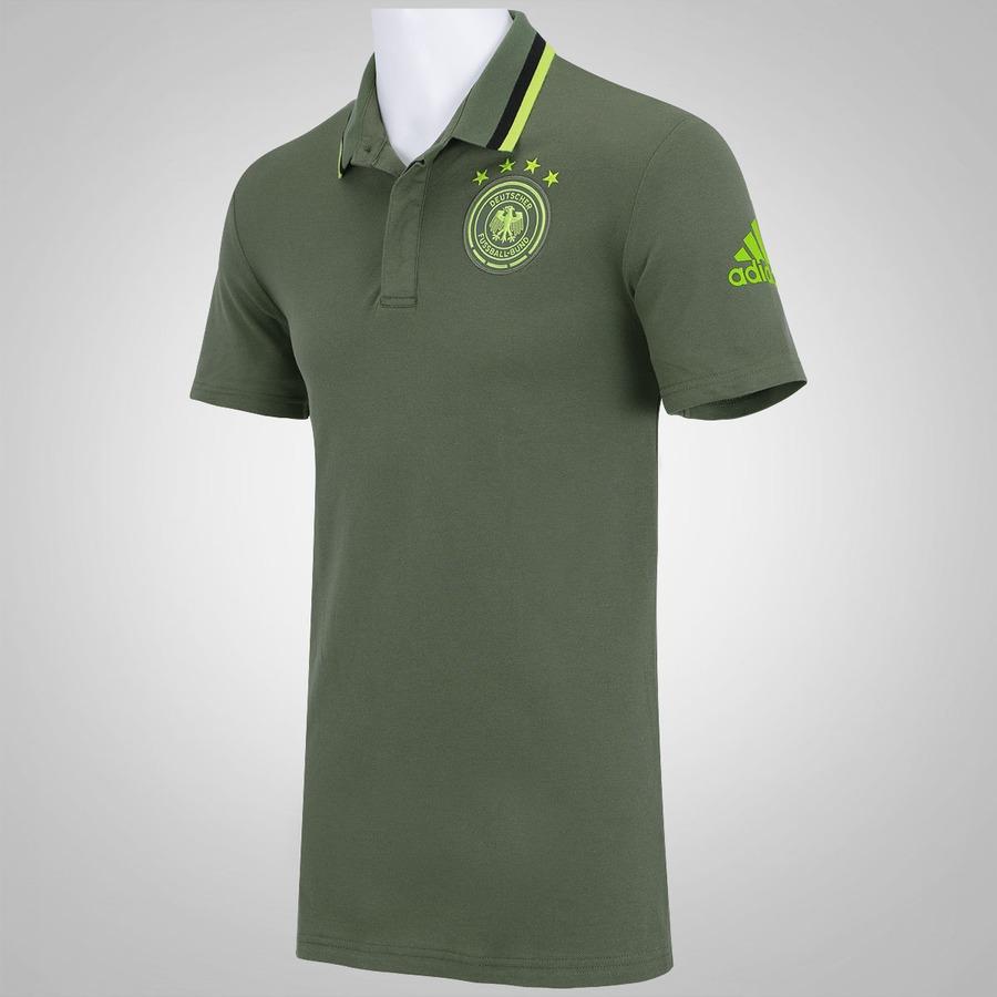 Camisa Polo da Alemanha Hino adidas - Masculina 6574a88849709