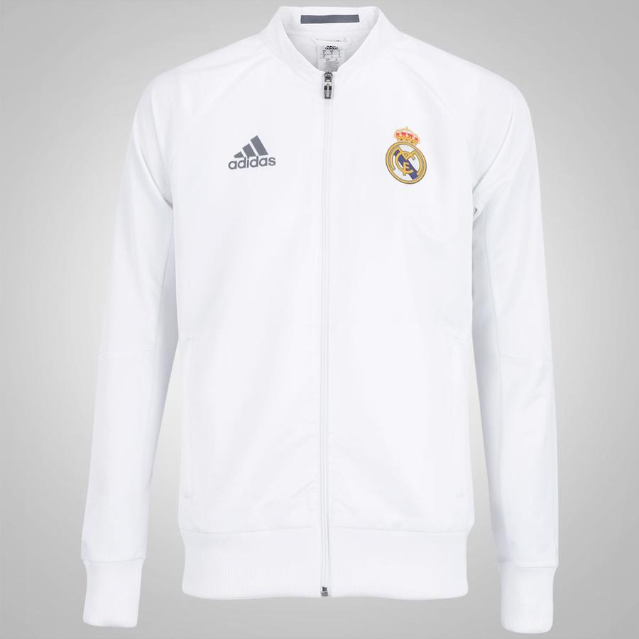 a5e63e9308 Jaqueta Real Madrid Hino 2015 adidas - Masculina