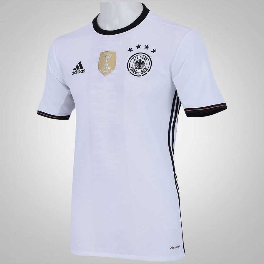ba9be1f5b02ea Camisa Alemanha I 2016 adidas - Masculina