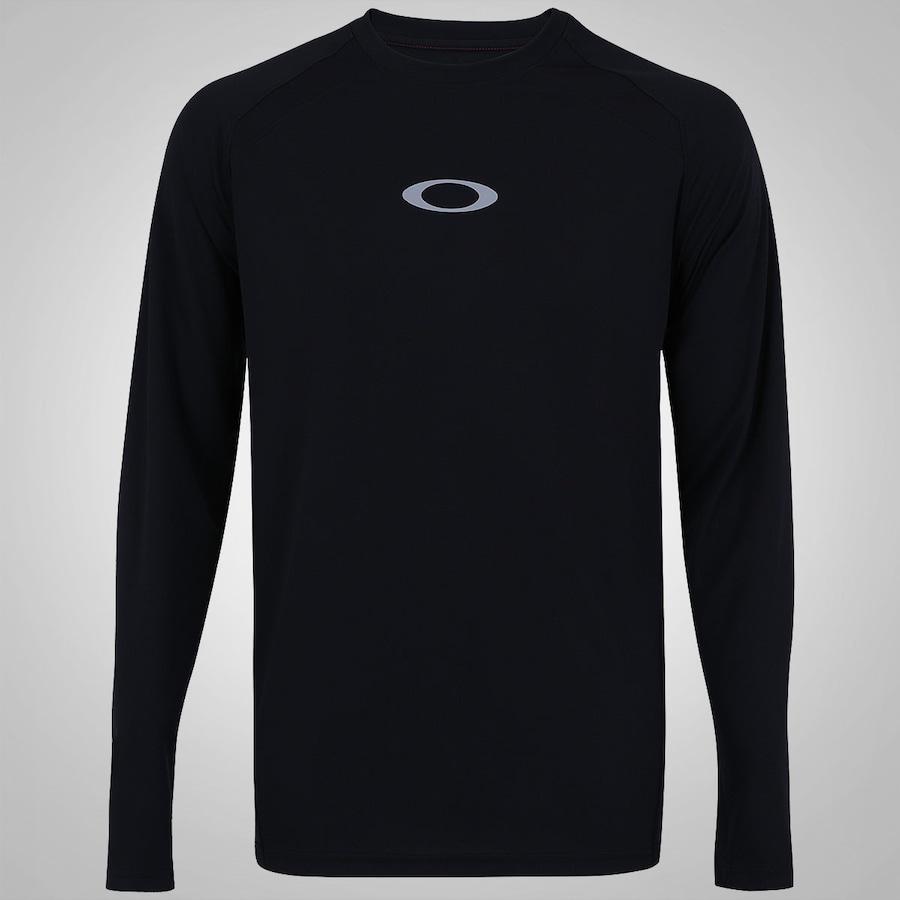 Camiseta Manga Longa Oakley Accomplish - Masculina 4d1ef51982b7d