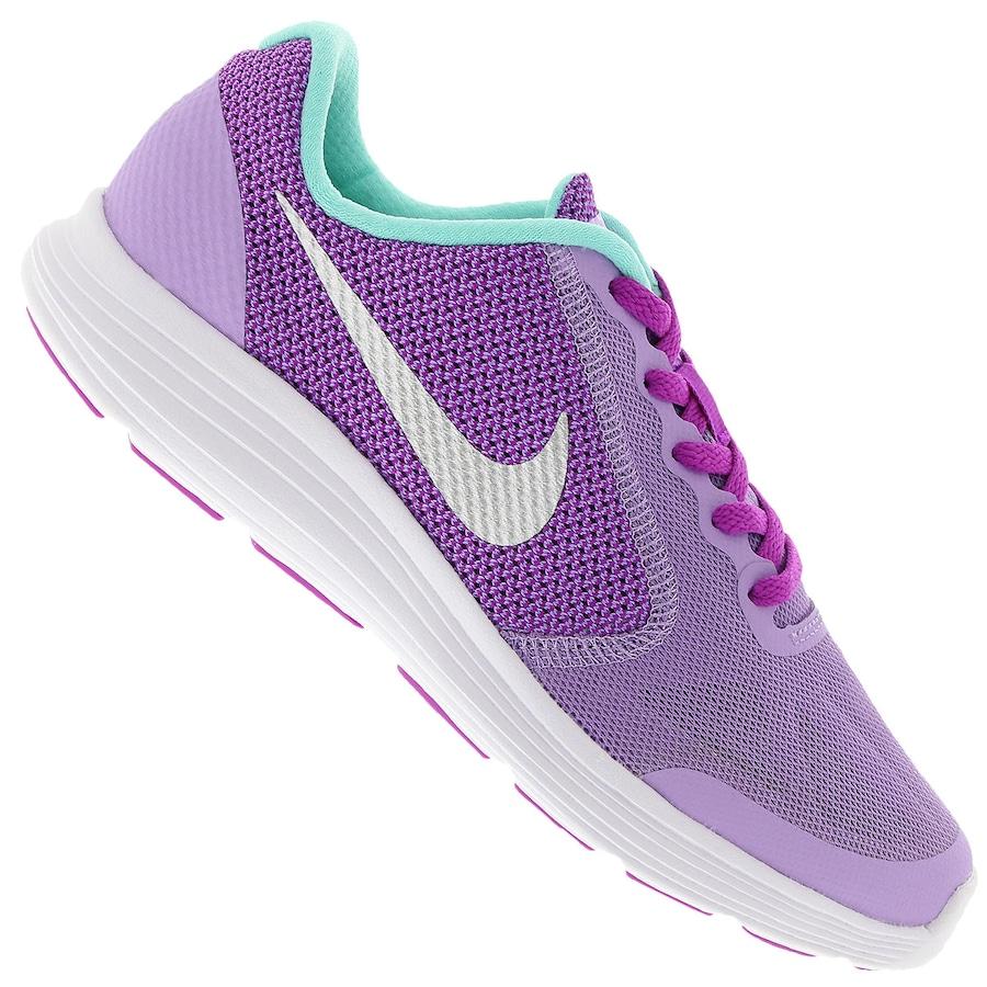Tênis Nike Revolution 3 GS Infantil 8ccc80f522880