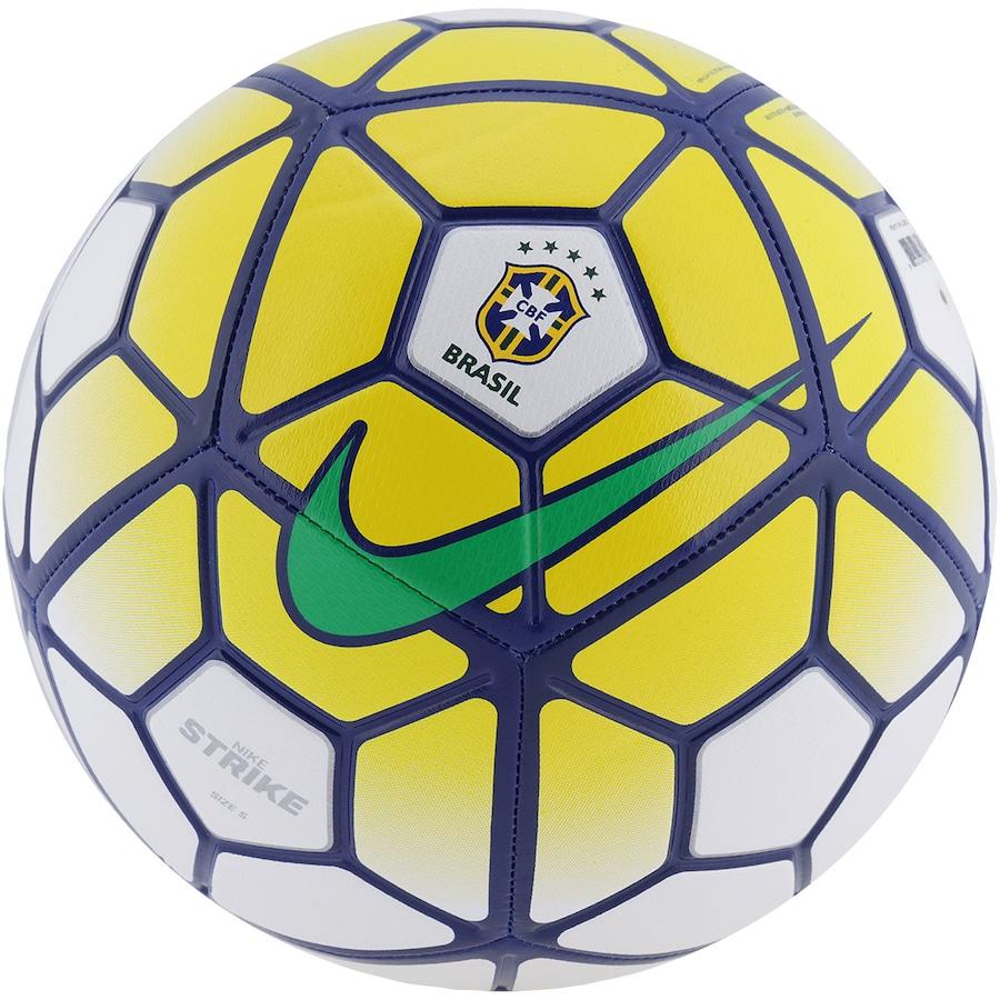 91de98000 Bola de Futebol de Campo Nike Strike CBF 2016