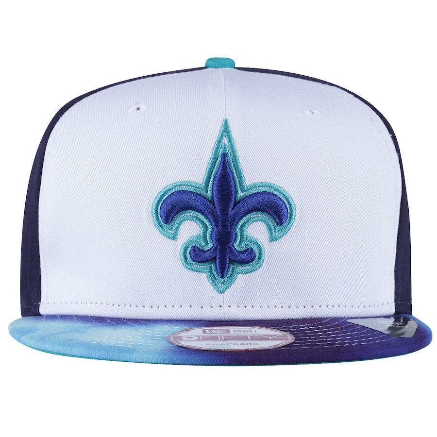 Boné Aba Reta New Era New Orleans Saints Flor de Lis 05d6e22ba7a