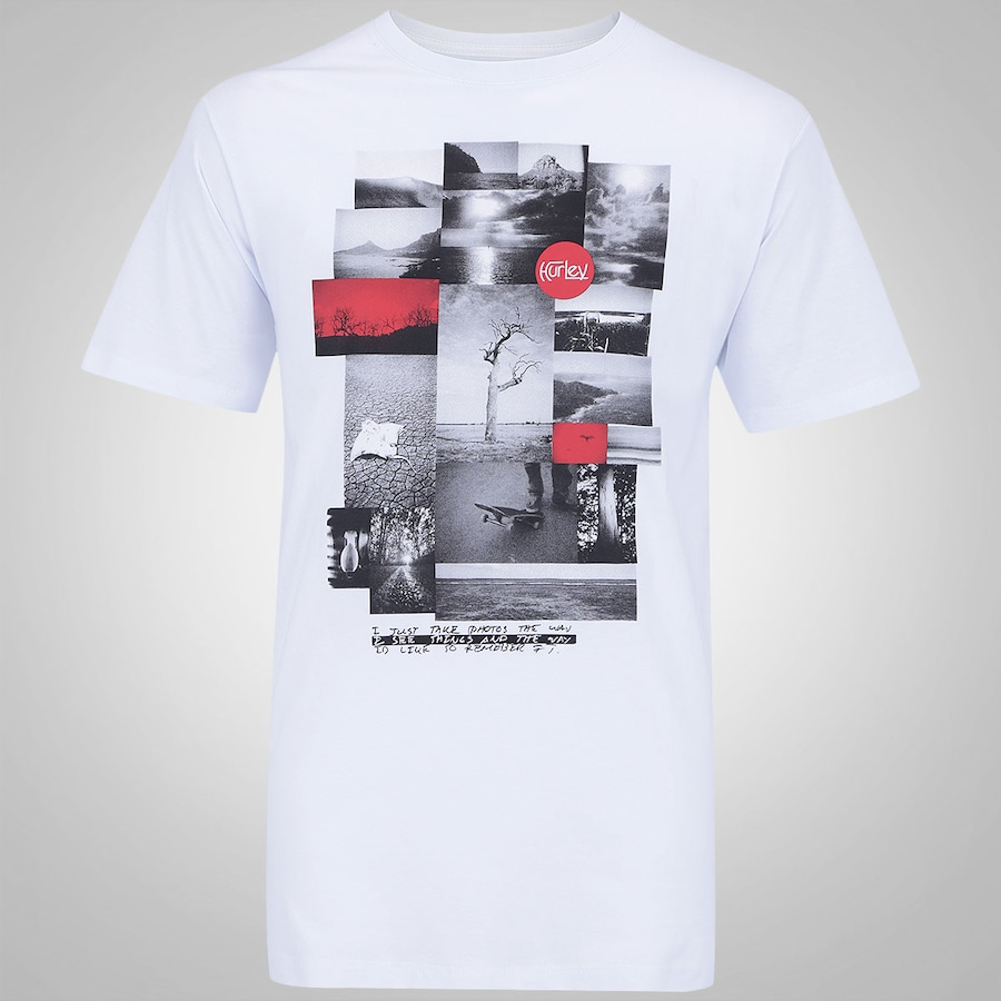 Camiseta Hurley John John Photo - Masculina ba0a5262000fa