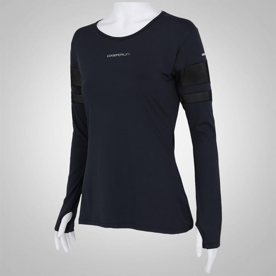 3b7c37b1f0 Camiseta Manga Longa Oxer Run - Feminina