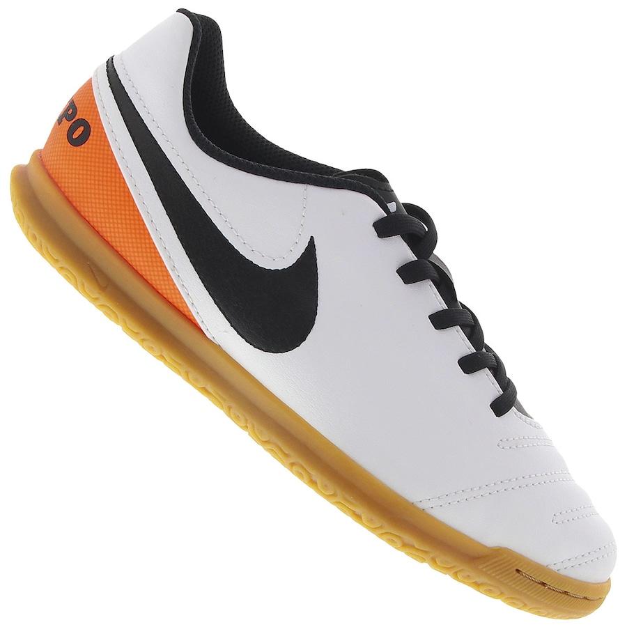 Chuteira Futsal Nike Tiempo Rio III IC - Infantil c435259e198fb