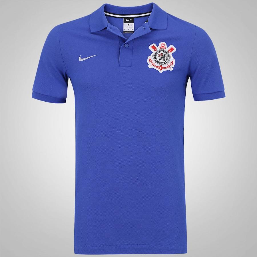 Camisa Polo do Corinthians 2016 Authentic Nike – Masculina a26caa181ba18