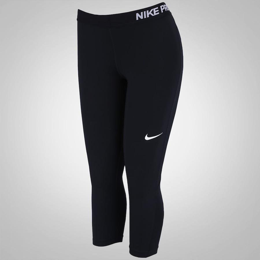 Calça Capri de Suave Compressão Nike Pro Cool - Feminina bd91462a6e645