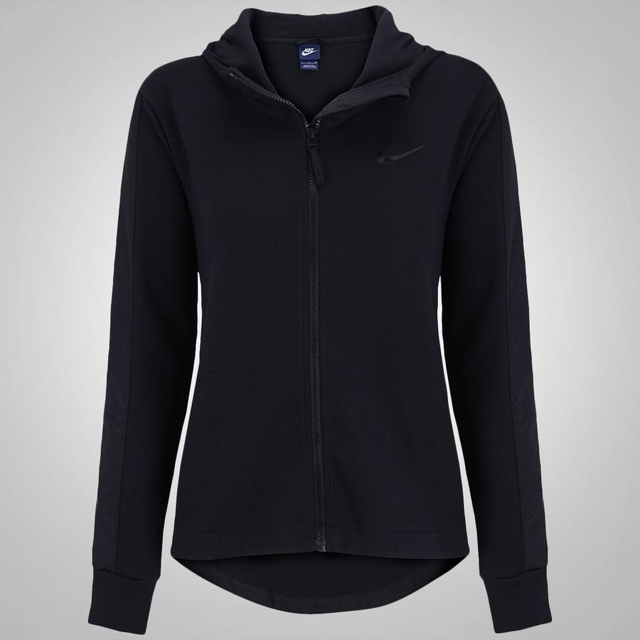 cfe495d3b8 Jaqueta com Capuz Nike Advance 15 Fleece - Feminina
