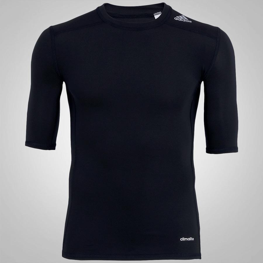 Camisa de Compressão adidas TechFit Base - Masculina 739741b551c47