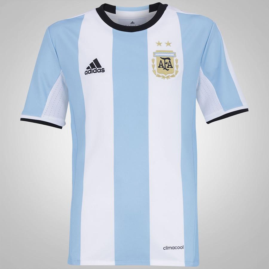 Camisa Argentina I 2016 adidas - Infantil 9100f23bec922