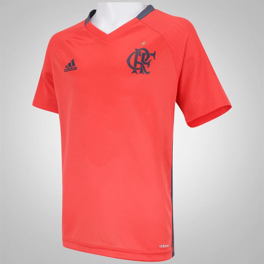 Camisa de Treino Flamengo 2016 adidas - Infantil 982e41ece536f